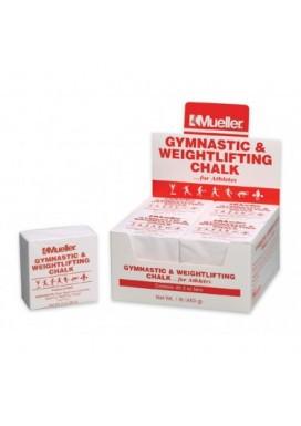 Mueller Gymnastics & Weightlifting Chalk - Case - 8 x 2 oz bars