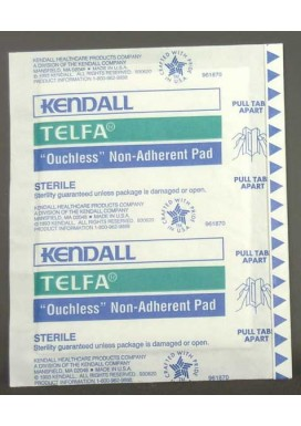 Gauze Pads (sterile): Non-Adherent Dressing