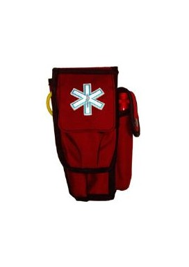 Paramedic Holster - Multi-7 stetho case (HT710) closed