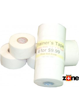 "Trainer's Tape (Factory 2nd's)  - 4 rolls (1.5""x15 yd)"