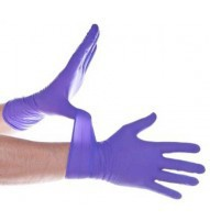 Nitrile Examination Gloves (Box: 100) Powder Free